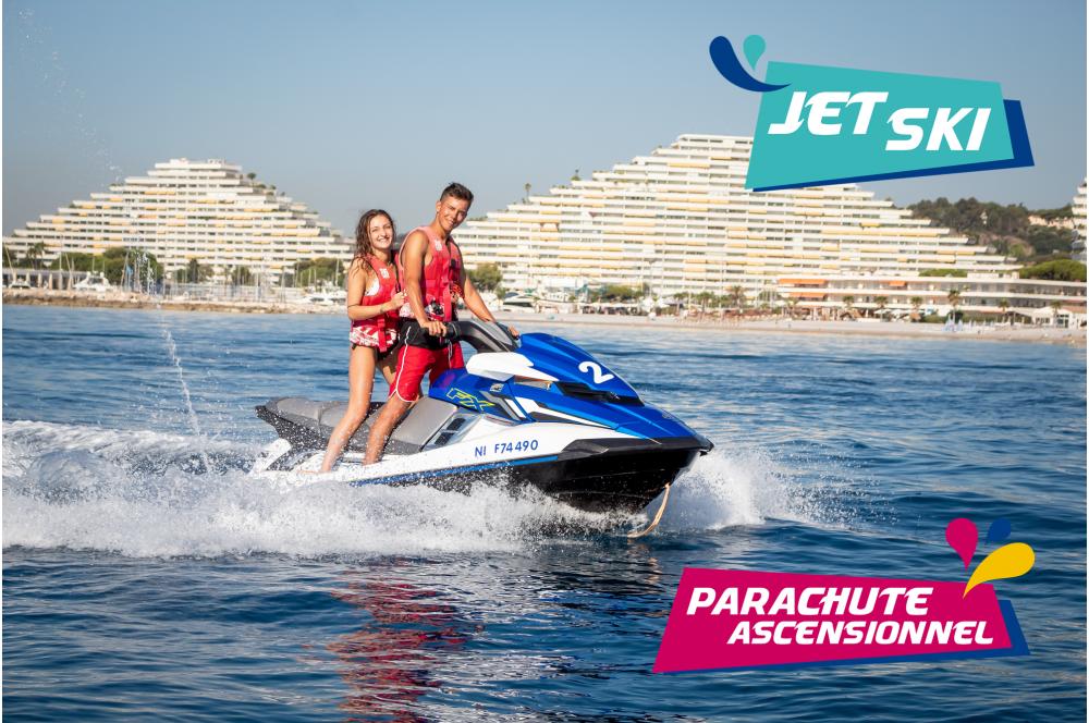 Pack Jet Ski et Parachute Ascensionnel
