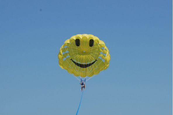 Tour en Parachute Ascensionnel