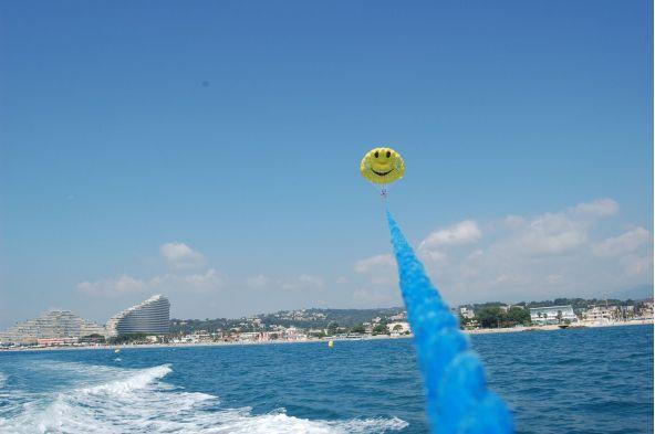 Parachute Ascensionnel à Villeneuve Loubet