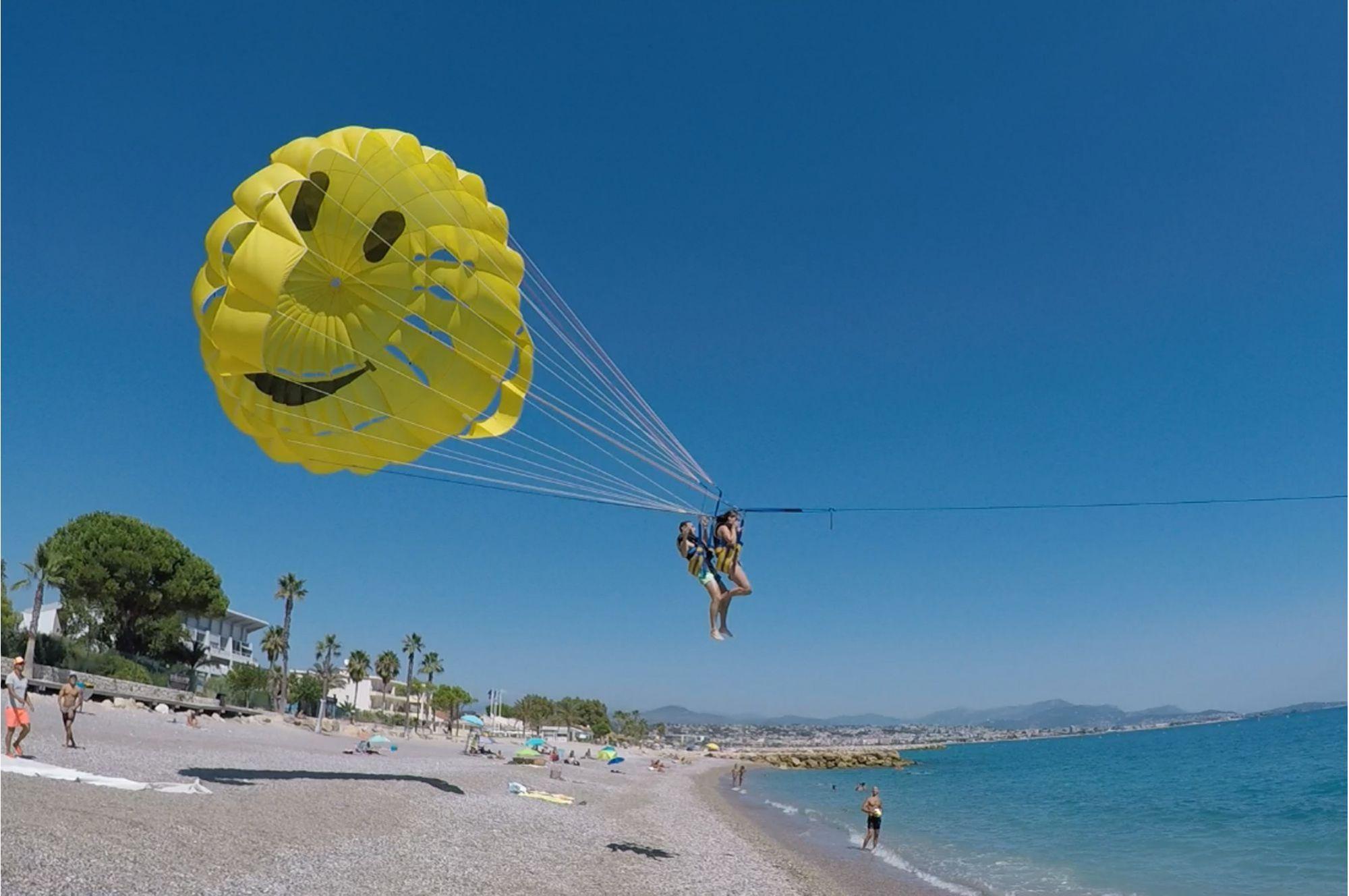 Parachute Ascensionnel à Cagnes sur Mer